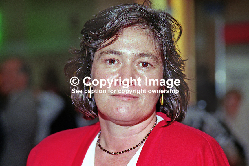 Clare Short, MP, Labour Party, Ladywood, UK, 19901006006.<br /> <br /> Copyright Image from Victor Patterson, 54 Dorchester Park, <br /> Belfast, UK, BT9 6RJ<br /> <br /> t1: +44 28 9066 1296 (from Rep of Ireland 048 9066 1296)<br /> t2: +44 28 9002 2446 (from Rep of Ireland 048 9002 2446)<br /> m: +44 7802 353836<br /> <br /> e1: victorpatterson@me.com<br /> e2: victorpatterson@gmail.com<br /> <br /> www.victorpatterson.com<br /> <br /> Please see my Terms and Conditions of Use at www.victorpatterson.com. It is IMPORTANT that you familiarise yourself with them.<br /> <br /> Images used on the Internet must be visibly watermarked i.e. &copy; Victor Patterson within the body of the image and copyright metadata must not be deleted. Images used on the Internet have a size restriction of 4kbs and will be chargeable at current NUJ rates unless advised otherwise.<br /> <br /> This image is only available for the use of the download recipient i.e. television station, newspaper, magazine, book publisher, etc, and must not be passed on to any third party. It is also downloaded on condition that each and every usage is notified within 7 days to victorpatterson@me.com<br /> <br /> The right of Victor Patterson to be identified as the author is asserted in accordance with The Copyright Designs And Patents Act (1988).