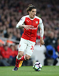 Arsenal's Hector Bellerin in action during the Premier League match at the Emirates Stadium, London. Picture date: April 26th, 2017. Pic credit should read: David Klein/Sportimage