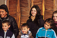 Young faces, Vardahovit, Armenia, February 2014