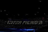 Milan fans <br /> Milano 09/02/2020 Stadio San Siro <br /> Football Serie A 2019/2020 <br /> FC Internazionale - AC Milan <br /> Photo Andrea Staccioli / Insidefoto