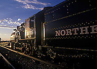 RESTORED NORTHERN PACIFIC ENGINE