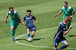 11.01.2019, Bidvest Stadion, Braampark, Johannesburg, RSA, FSP, SV Werder Bremen (GER) vs Bidvest Wits FC (ZA)<br /> <br /> im Bild / picture shows <br /> Granwald Scott Warren(Bidvest Wits FC #14)Joshua Sargent (Werder Bremen #19)<br /> <br /> Foto © nordphoto / Kokenge