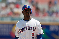 7 March 2009: #2 Hanley Ramirez of the Dominican Republic is seen during the 2009 World Baseball Classic Pool D match at Hiram Bithorn Stadium in San Juan, Puerto Rico. Netherlands pulled off a huge upset in their World Baseball Classic opener with a 3-2 victory over Dominican Republic.