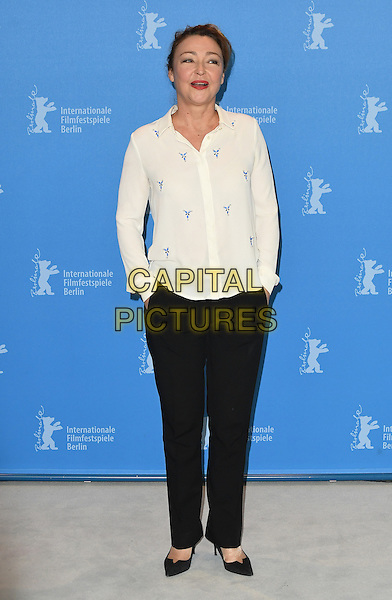 BERLIN, GERMANY - FEBRUARY 14: Catherine Frot attends a photo call for The Midwife (Sage Femme) during the 67th Berlinale International Film Festival Berlin at the Grand Hyatt Hotel on February 14, 2017 in Berlin, Germany.<br /> CAP/BEL<br /> &copy;BEL/Capital Pictures