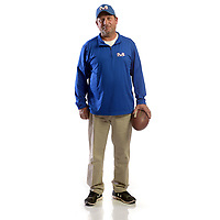 NWA Democrat-Gazette/ANDY SHUPE<br /> Tom Harrell of Mountainburg is the Northwest Arkansas Democrat-Gazette Small School Coach of the Year. Wednesday, Dec. 13, 2017.