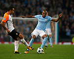 Fernandinho of Manchester City during the Champions League Group F match at the Emirates Stadium, Manchester. Picture date: September 26th 2017. Picture credit should read: Andrew Yates/Sportimage