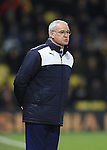Leicester City's Claudio Ranieri in action<br /> <br /> - English Premier League - Watford vs Leicester City  - Vicarage Road - London - England - 5th March 2016 - Pic David Klein/Sportimage