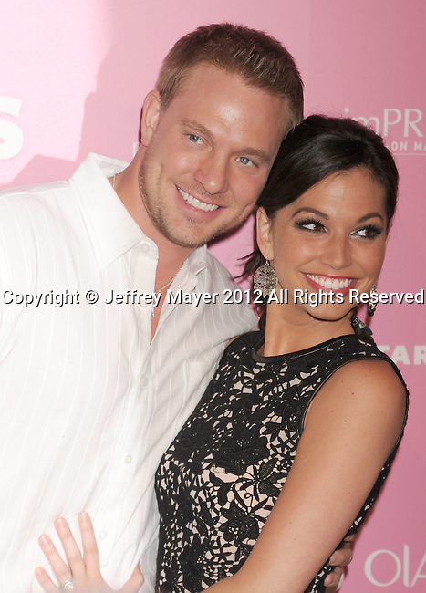 WEST HOLLYWOOD, CA - APRIL 18: Tye Strickland and Melissa Rycroft-Strickland attend Us Weekly's Hot Hollywood 2012 Style Issue Event at Greystone Manor Supperclub on April 18, 2012 in West Hollywood, California.