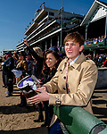 November 3, 2018 : Fans cheer during a Breeders' Cup race on Breeders Cup World Championships Saturday at Churchill Downs on November 3, 2018 in Louisville, Kentucky. Scott Serio/Eclipse Sportswire/CSM