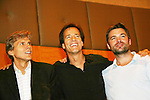 Grant Aleksander - Bradley Cole - Daniel Cosgrove - So Long Springfield event celebrating 7 wonderful decades of Guiding Light which brought out Guiding Light Actors as they  came to see fans at the Hyatt Regency in Pittsburgh, PA. for Q & A, acting scenes between actors and fans by GL finest during the weekend of October 25, 2009. (Photo by Sue Coflin/Max Photos)