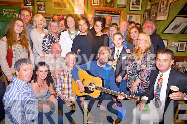 Fermanagh native Mickey MacConnell pictured last Sunday in John B Keanes Bar, Listowel.