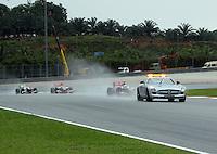 SEPANG, MALASIA, 25 DE MARCO 2012 - F1 - GP MALASIA - <br /> Safety car durante o GP da Malásia, no circuito de Kuala Lumpur, em Sepang, neste domingo, 26. (FOTO: THOMAZ MELZER / PIXATHLON /  BRAZIL PHOTO PRESS).