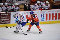 IJSHOCKEY: HEERENVEEN: Thialf, IIHF Ice Hockey U18 World Championship, 03-04-12, Nederland - Kroatie, Filip Jarcov (#6), Rocco van Hoorn (#13), ©foto Martin de Jong