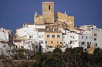 Europe/Espagne/Baléares/Minorque/Alaior : Le village et l'église