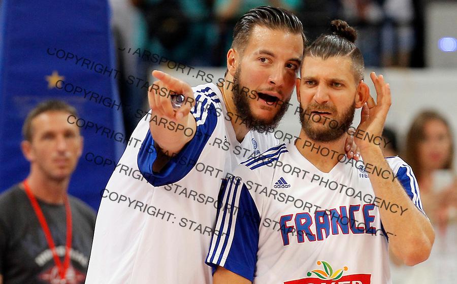 Joffrey Lauvergne Kosarka Srbija - Francuska prijateljska 25.6.1016. JUN 25. 2016. (credit image & photo: Pedja Milosavljevic / STARSPORT)