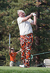 August 3, 2012: John Daly tees off on the 17th hole during the second round of the 2012 Reno-Tahoe Open Golf Tournament at Montreux Golf & Country Club in Reno, Nevada.