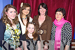 Karen O'Dwyer, Marie O'Riordan, Sheila Dwyer, Cathertine O'Grady and Mariah Dwyer pictured the gala fashion show in aid of the CYMS development fund on Thursday night.