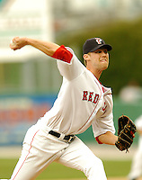Pawtucket Red Sox' RHP Daniel Bard at McCoy Stadium April 18, 2009 in Pawtucket, RI (Photo by Ken Babbitt/Four Seam Images)
