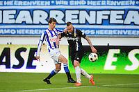 VOETBAL: HEERENVEEN: Abe Lenstra Stadion, SC Heerenveen - Vitesse, 21-01-2012, Filip Djuricic (#11), Alexander Büttner (#5), Eindstand 1-1, ©foto Martin de Jong