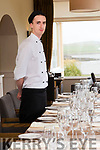 Mark O'Callaghan, chef at the Skellig Hotel, Dingle.