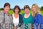 LOCALS: Frances O'Connor, Catherine Scannell, Nora Crean and Martha Farrell enjoying the Camp Family Fun Day on Sunday..