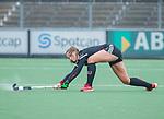 AMSTELVEEN - Sabine Plonissen (Adam)    tijdens de hoofdklasse hockeywedstrijd dames,  Amsterdam-Den Bosch (1-1).   COPYRIGHT KOEN SUYK