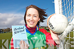 ON THE BALL: Leona Twiss from Killorglin who has been appointed the new Mid Kerry GAA Board PRO.   Copyright Kerry's Eye 2008