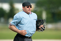 21 May 2009: Umpire Jean-Claude Lopez is seen during the 2009 challenge de France, a tournament with the best French baseball teams - all eight elite league clubs - to determine a spot in the European Cup next year, at Montpellier, France.