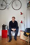 """18.9.2015, Berlin. David Weinstock (21 years old), author of the book """"Schluss mit ungenügend!""""."""