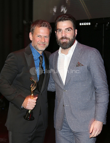 Hollywood, CA - February 19: Zachary Quinto, Joel Harlow, At 3rd Annual Hollywood Beauty Awards_Show, At Avalon Hollywood In California on February 19, 2017. Credit: Faye Sadou/MediaPunch