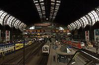 Hamburg raiway station. Hamburg, Germany