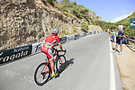 Jose Herrada (ESP) Cofidis on the slopes of Sierra de la Alfaguara  during Stage 4 of the La Vuelta 2018, running 162km from Velez-Malaga to Alfacar, Sierra de la Alfaguara, Andalucia, Spain. 28th August 2018.<br /> Picture: Eoin Clarke | Cyclefile<br /> <br /> <br /> All photos usage must carry mandatory copyright credit (&copy; Cyclefile | Eoin Clarke)