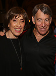 """Susan Birkenhead and Stephen Schwartz attends the Opening Night performance afterparty for ENCORES! Off-Center production of """"Working - A Musical""""  at New York City Center on June 26, 2019 in New York City."""