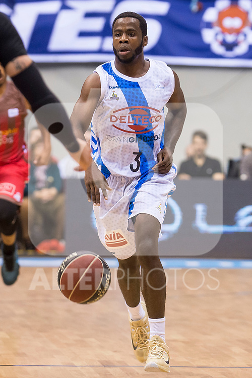 Gipuzkoa Basket Kenny Chery during Liga Endesa match between San Pablo Burgos and Gipuzkoa Basket at Coliseum Burgos in Burgos, Spain. December 30, 2017. (ALTERPHOTOS/Borja B.Hojas)