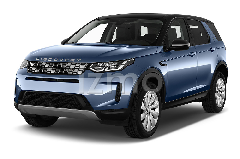 2020 Land Rover Discovery Sport S 5 Door SUV angular front stock photos of front three quarter view