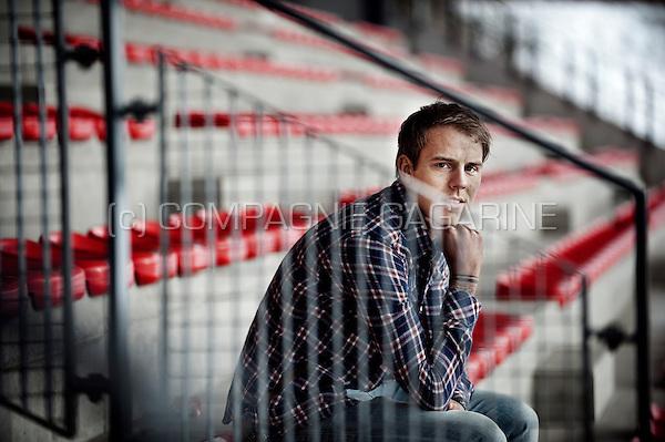 Belgian football player Yoni Buyens (Belgium, 15/03/2013)