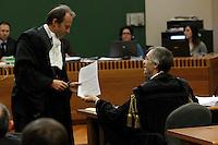 Processo  contro la presunta compravendita dei senatori <br /> nella foto  John henry Woodcock e Niccolo Ghedini
