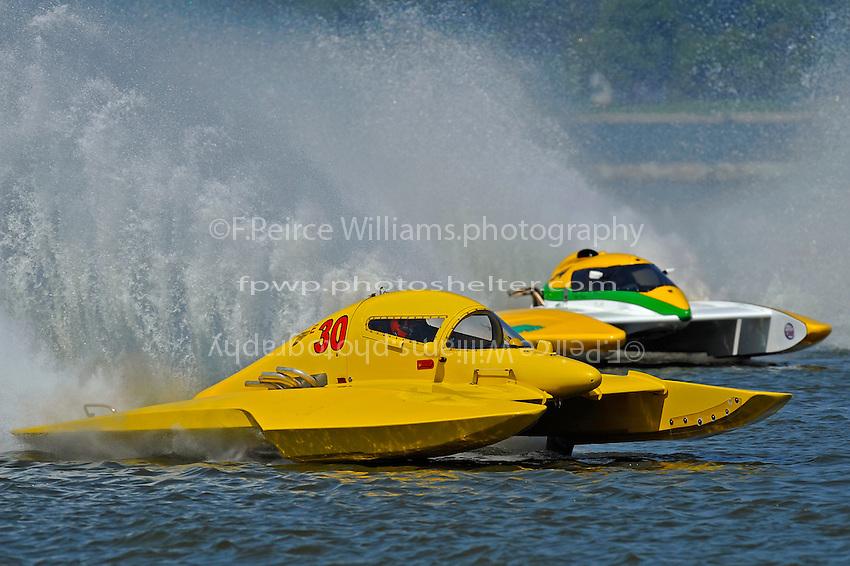 "Brandon Kennedy, E-30 ""Budget Buster"" and Matt O'Connor, E-34 ""The Gator"" (5 Litre class hydroplane(s)"