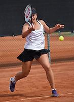 August 6, 2014, Netherlands, Rotterdam, TV Victoria, Tennis, National Junior Championships, NJK,  Liza Lebedzeva (NED)<br /> Photo: Tennisimages/Henk Koster