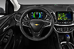 Car pictures of steering wheel view of a 2016 Chevrolet Volt Premier 5 Door Hatchback Steering Wheel