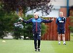 Mark Warburton and David Weir