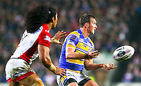 Picture by Alex Whitehead/SWpix.com - 28/03/2014 - Rugby League - First Utility Super League - St Helens v Leeds Rhinos - Langtree Park , St Helens, England - Leeds' Danny McGuire.
