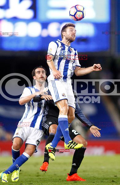 Real Sociedad's Asier Illarramendi during La Liga match. August 21,2016. (ALTERPHOTOS/Acero) /NORTEPHOTO