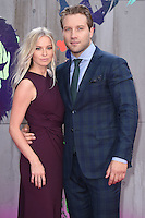 "Jai Courtney<br /> arrives for the ""Suicide Squad"" premiere at the Odeon Leicester Square, London.<br /> <br /> <br /> ©Ash Knotek  D3142  03/08/2016"