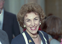 Edwina Currie, MP, Conservative Party, UK, annual conference, Blackpool, October, 1995, 199510001538<br /><br />Copyright Image from Victor Patterson, Belfast, UK, BT9 5HG<br /><br />t: +44 28 9066 1296 <br />(from Rep of Ireland 048 9066 1296) <br />m: +44 7802 353836 <br />victorpattersonbelfast@gmail.com <br />www.victorpatterson.com<br /><br />Please see my Terms and Conditions of Use at https://www.victorpatterson.com/page2 <br /><br />It is IMPORTANT that you familiarise yourself with them.<br /><br />Images used on the Internet incur an additional cost and must be visibly watermarked i.e. © Victor Patterson within the body of the image and copyright metadata must not be deleted. Images used on the Internet have a size restriction of 4kbs and are chargeable at rates available at victorpatterson.com.<br /><br />This image is only available for the use of the download recipient i.e. television station, newspaper, magazine, book publisher, etc, and must not be passed on to any third party. It is also downloaded on condition that each and every usage is notified within 7 days to victorpattersonbelfast@gmail.com<br /><br />The right of Victor Patterson to be identified as the author is asserted in accordance with The Copyright Designs And Patents Act (1988). All moral rights are asserted.