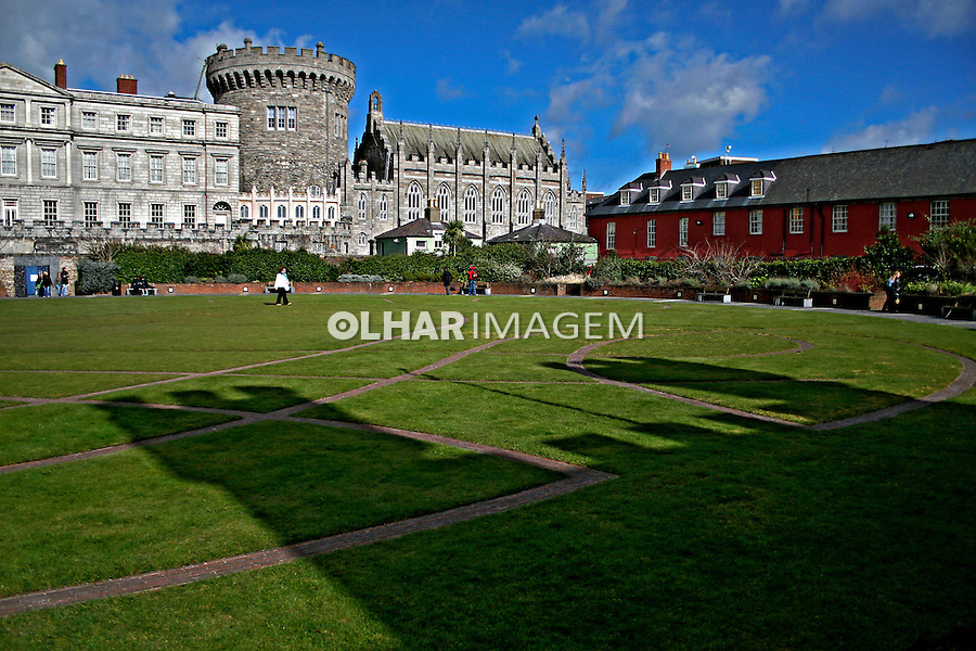 Castelo de Dublin. Irlanda. 2007. Foto de Marcio Nel Cimatti.