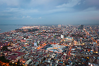 May 21, 2012 - Phnom Penh, Cambodia. A view of Phnom Penh city. © Nicolas Axelrod / Ruom