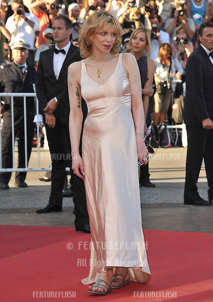 "Courtney Love at the premiere of ""This Must Be The Place"" in competition at the 64th Festival de Cannes..May 20, 2011  Cannes, France.Picture: Paul Smith / Featureflash"