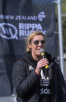 NZ Rugby chief operating officer Nicki Nicol. Day two of the 2018 Air NZ Rippa Rugby Championship at Wakefield Park in Wellington, New Zealand on Tuesday, 11 September 2018. Photo: Dave Lintott / lintottphoto.co.nz
