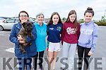 Attending the memorial walk for Tony O'Donovan for Recovery Haven on Saturday.<br /> L to r: Sharon and Marion Williams (Blennerville), Ellen O'Donoghue (Clare), Lily O'Brien (Blennerville) and Ally Lynch (Blennerville).